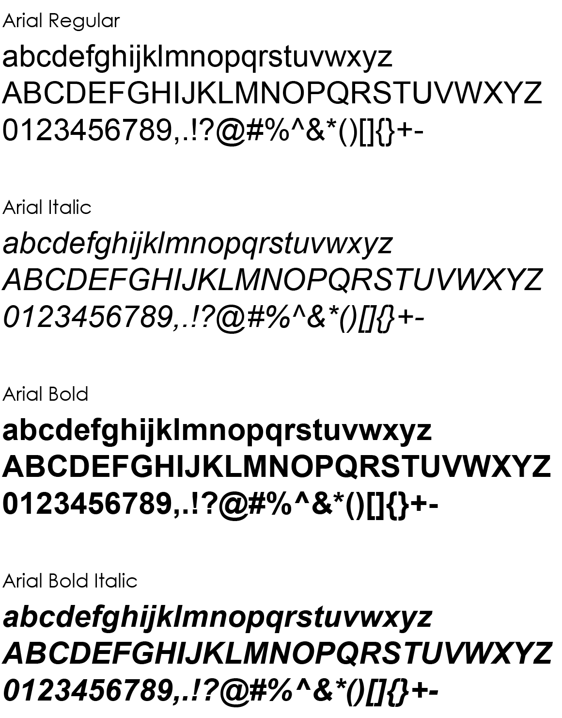 Lettertypen   FlowStyleguide